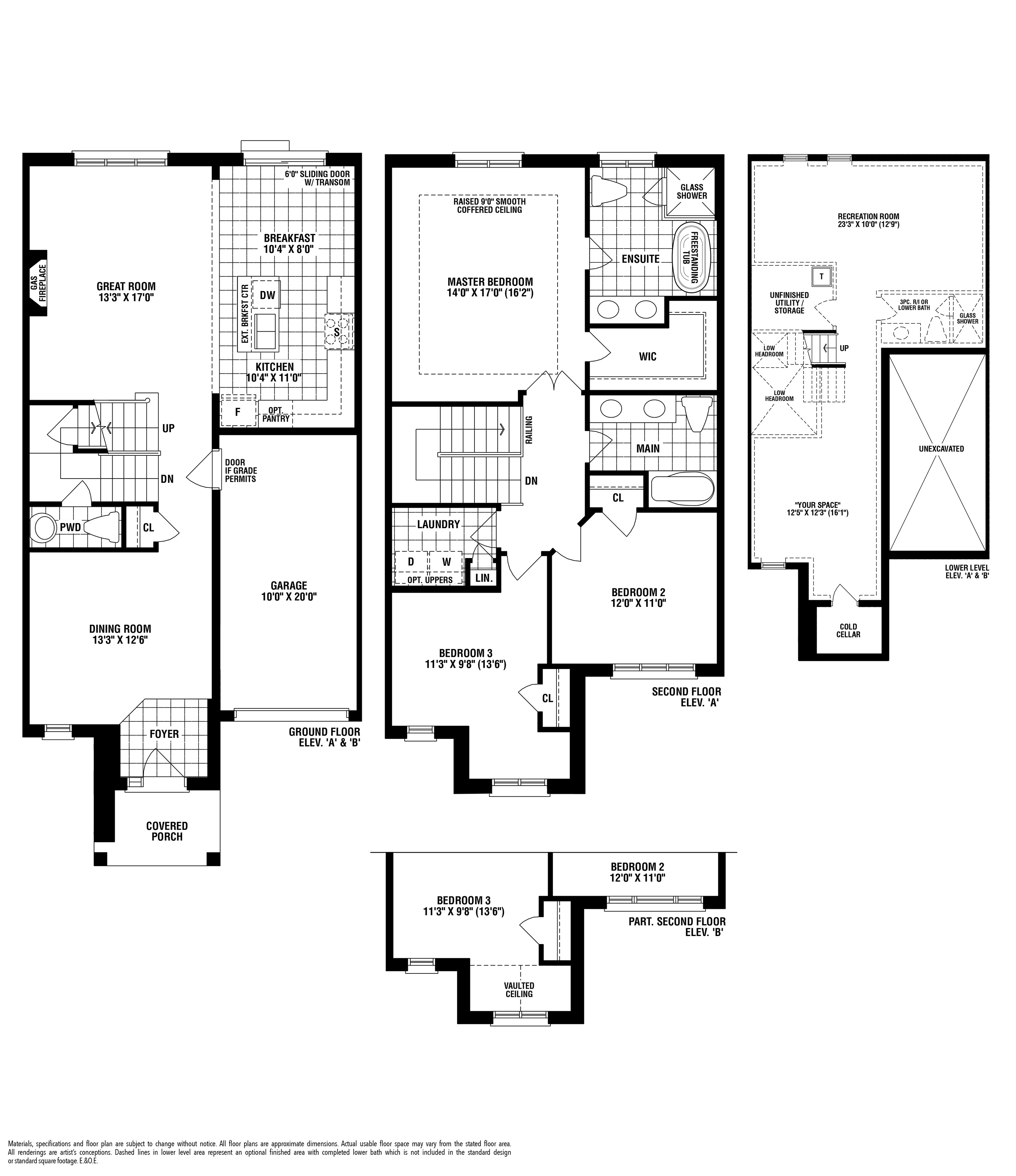 Cawthra Floorplan