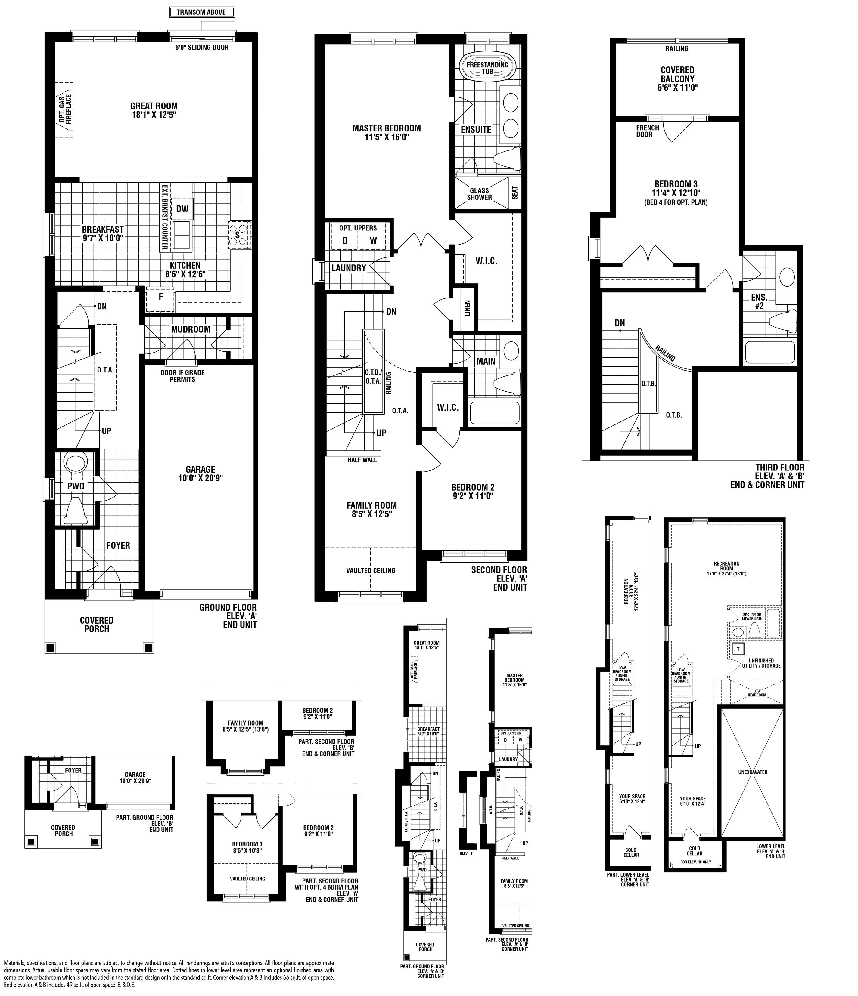 Toulenne (End) Floorplan