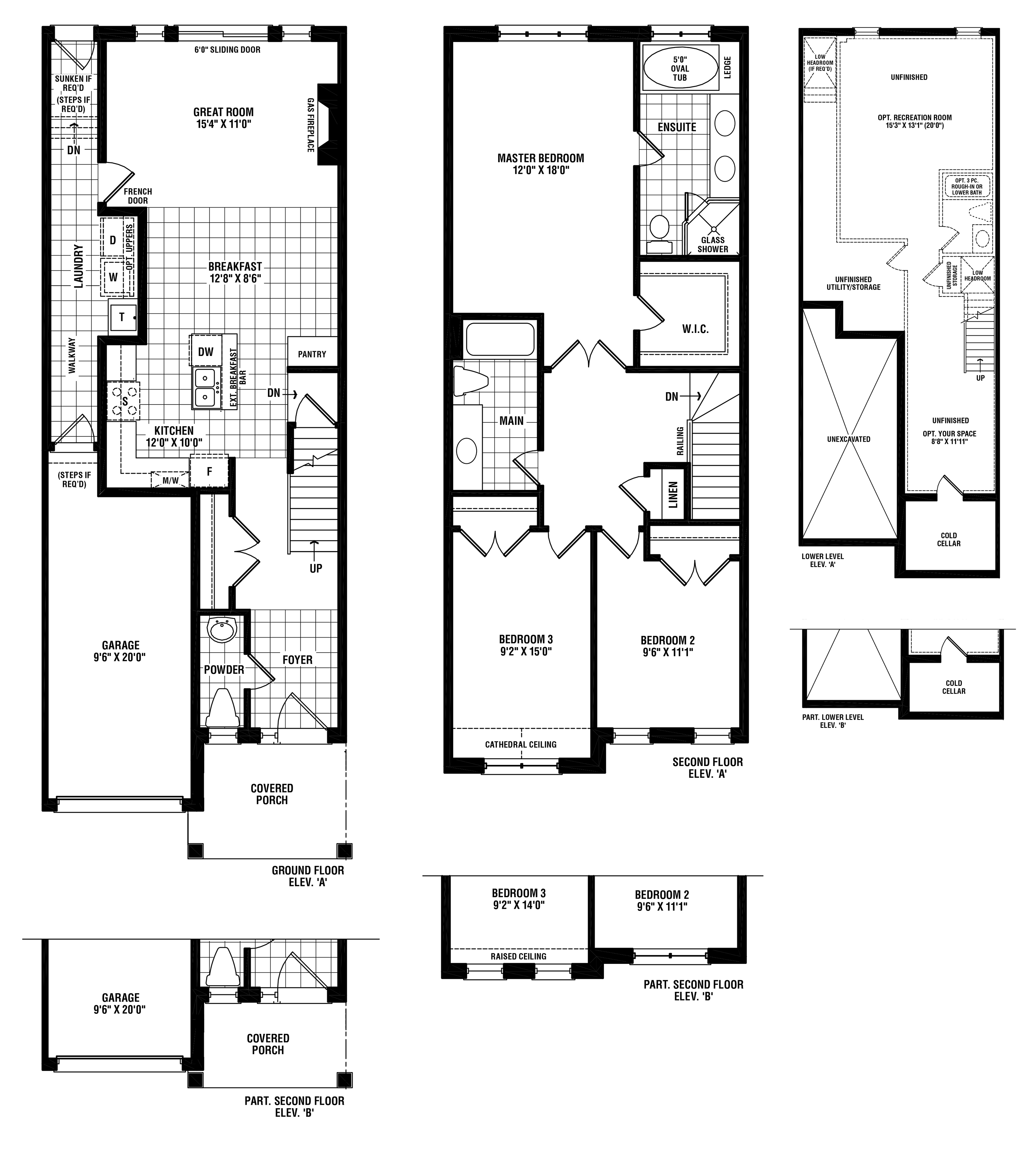 Riverstone Floorplan