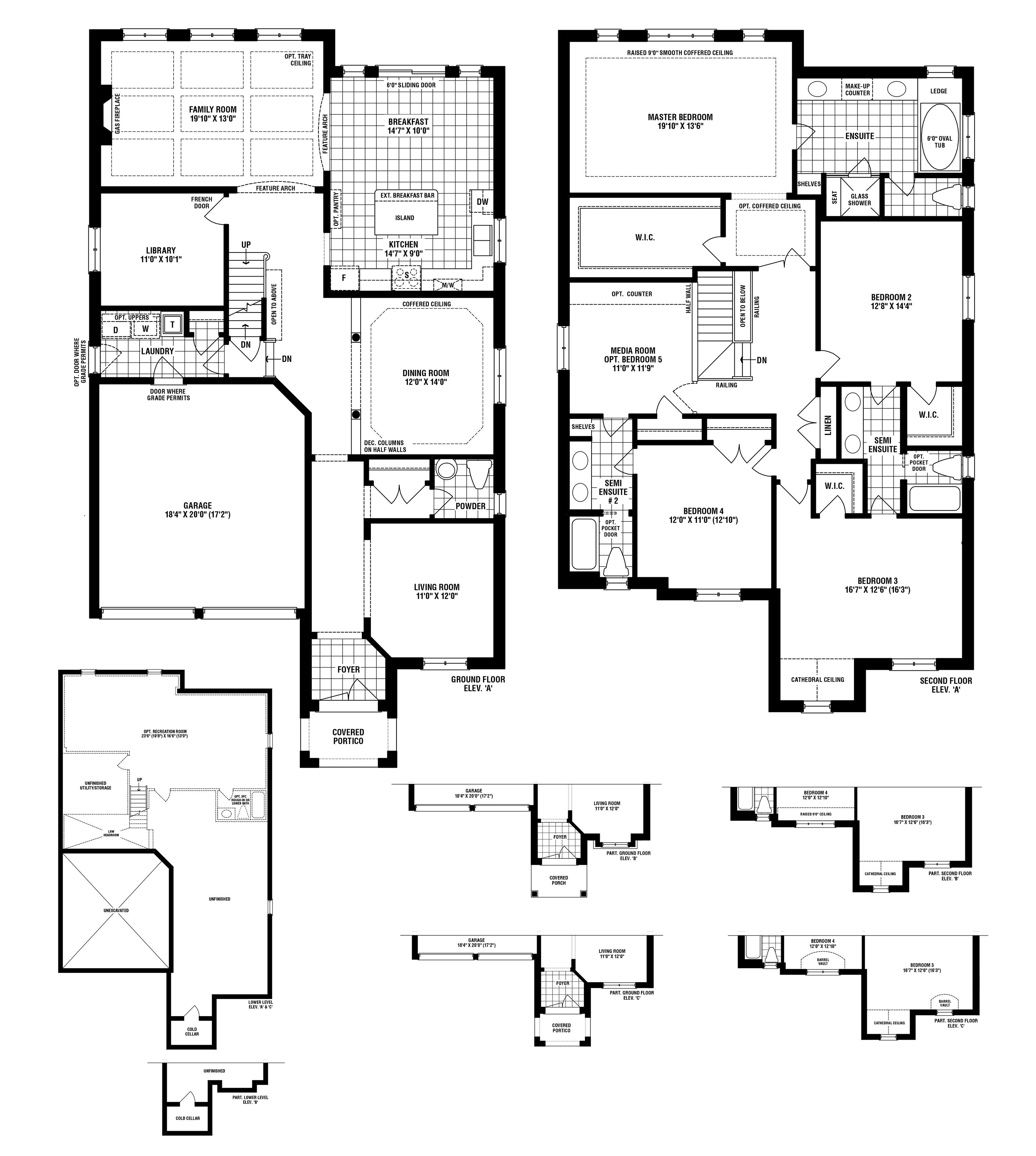 Treeline Floorplan