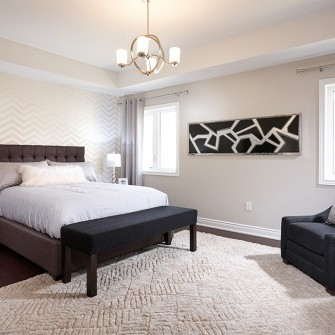 Abstract Bedroom Decor
