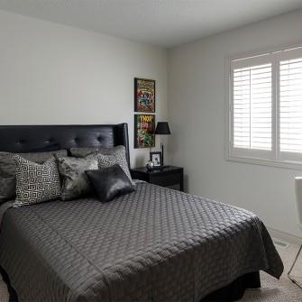 Dark Boys Bedroom