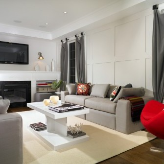 Coffered Walls in Homes
