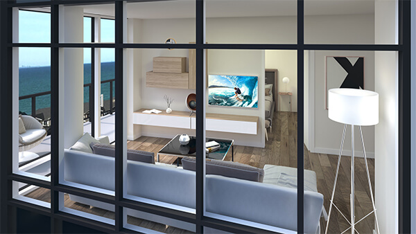 Wall Storage Above Furniture