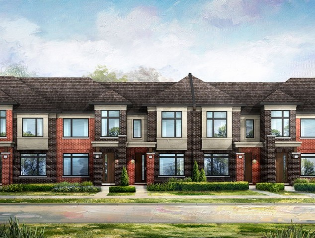Mount Pleasant Townhomes in Brampton