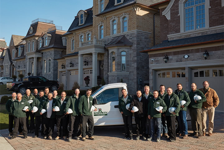 Rosehaven Homes' Construction Team