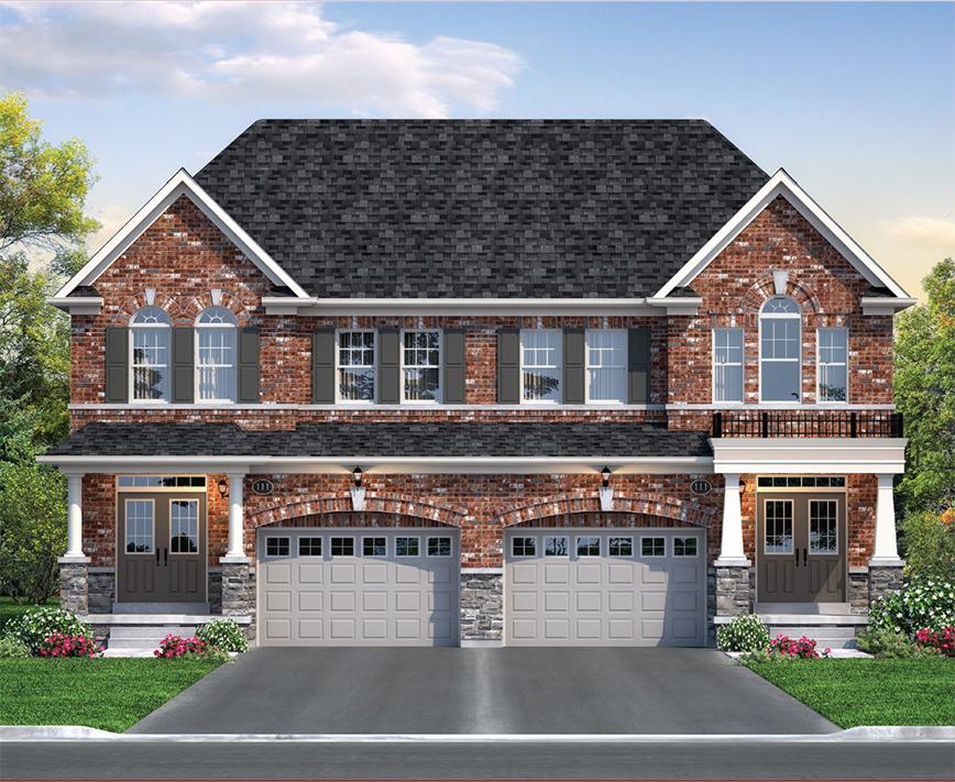 New Semi-Detached Homes in Brampton b2