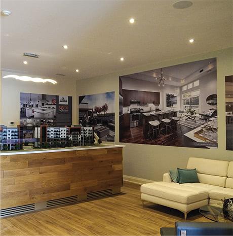 Affinity Condominiums Sales Office in Burlington