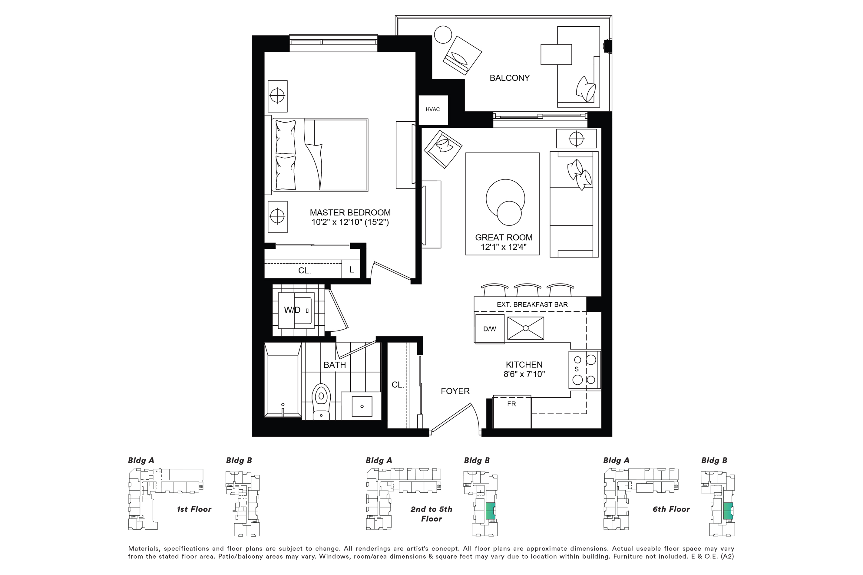 Ascent Elevation Condo Units