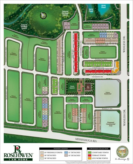 Courtyard Townhomes Site Plan