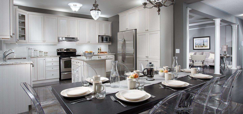 Modern New Home Kitchen